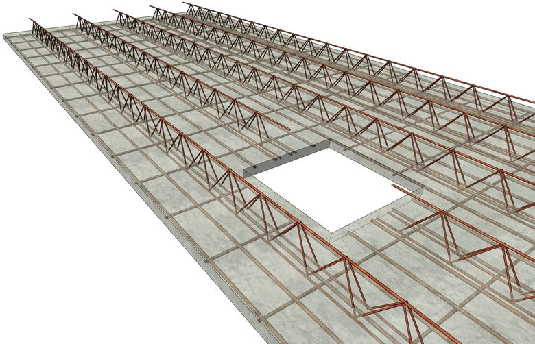 Revit 2019 Girder-slabs